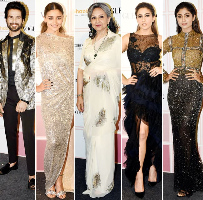 Vogue Beauty Awards 2019  From Sara Ali Khan to Sunny Leone  This is How Celebs Took Red Carpet by Storm