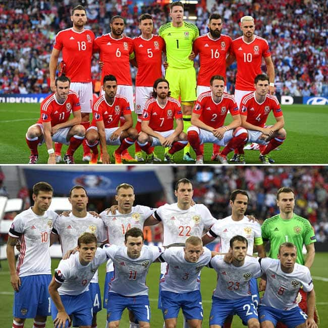 Wales beats Russia with 3 0 in UEFA EURO 2016 Group B match