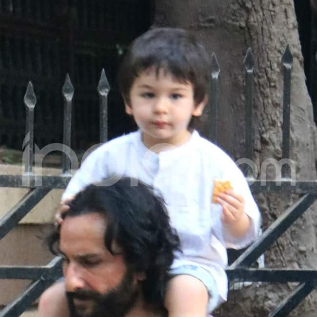 Weekends are for Taimur