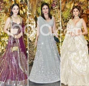 Armaan Jain-Anissa Malhotra's Wedding Reception: All Lehenga Looks From The Evening