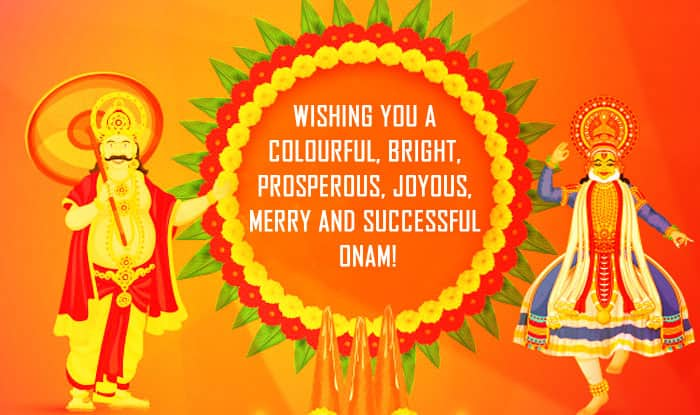 Wishing you a colourful  bright  prosperous  joyous  merry and successful Onam