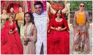 Wrestler Babita Phogat Marries Fellow Wrestler Vivek Suhag   SEE PICS