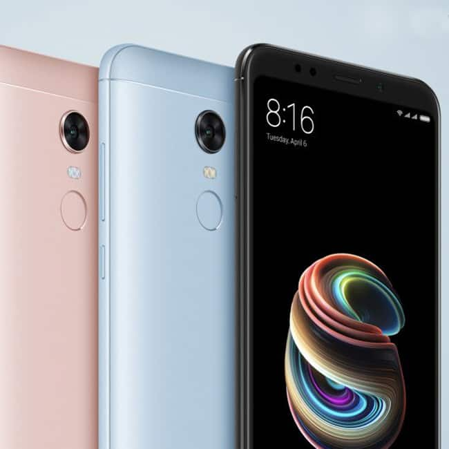 Xiaomi Redmi 5 Note features