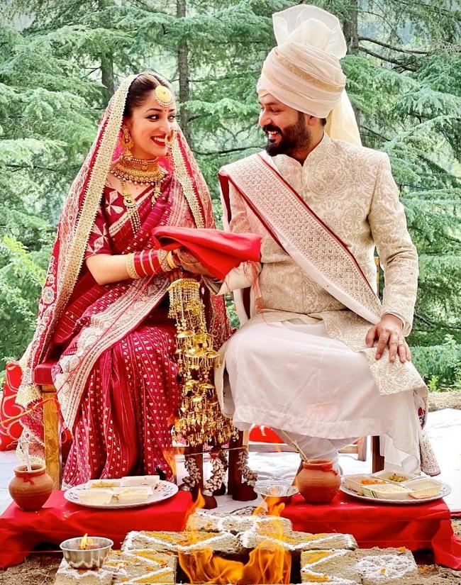 Yami Gautam   Aditya Dhar   s More Photos From Traditional Pahadi Wedding Ceremony