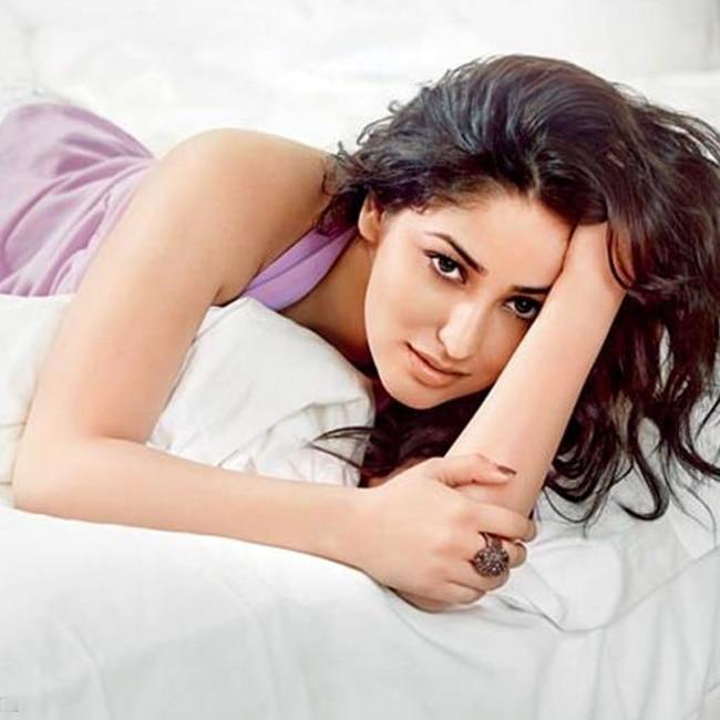Yami Gautam poses for a seductive picture