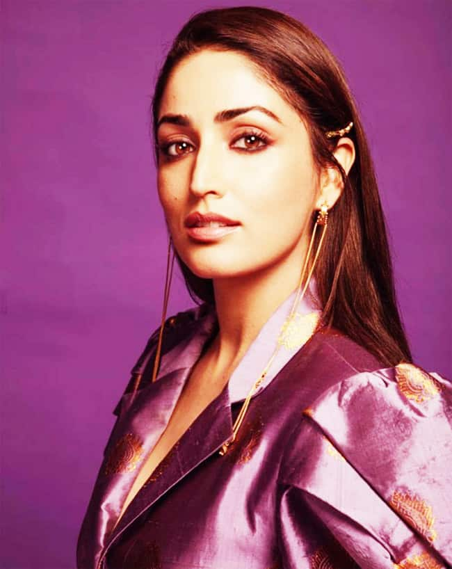 Yami Gautam Shines Bright In Her Purple Outfit