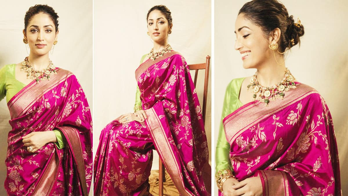 Yami Gautam Stuns Fans With Her Ethnic Look
