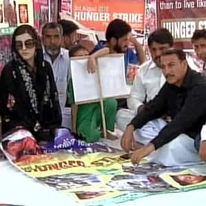 Rajnath Singh visits Pakistan for Saarc meet; Yasin Malik's wife leads a hunger strike
