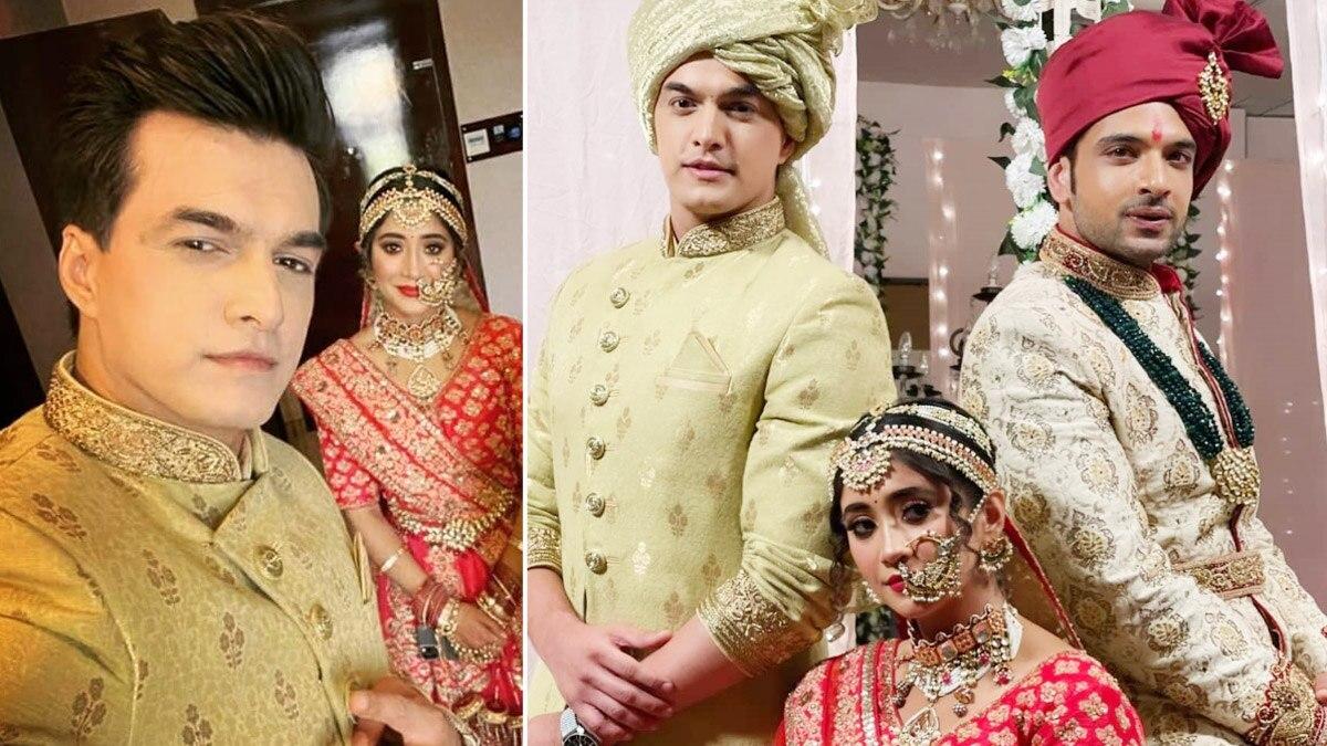 Yeh Rishta Kya Kehlata Hai  Inside pics of Sirat and Ranveer s marriage