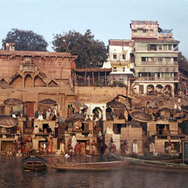You can visit Varanasi in the month of February