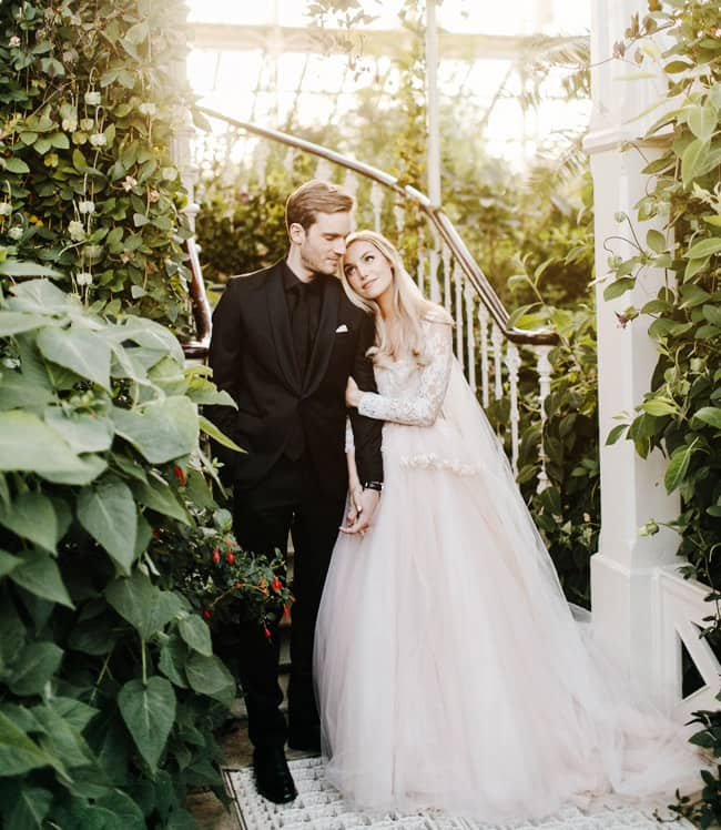 YouTuber PewDiePie Ties Knot With Longtime Girlfriend Marzia Bisognin in London