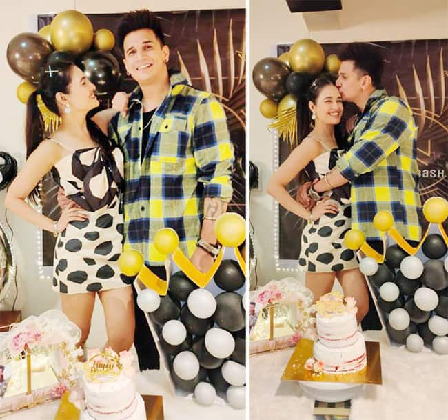 Yuvika Chaudhary Shares Pictures From Prince Narula Birthday Celebrations