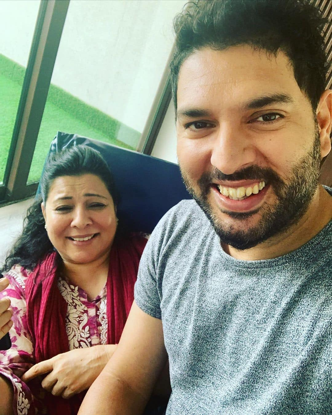 Yuvraj Singh  Mother s Day
