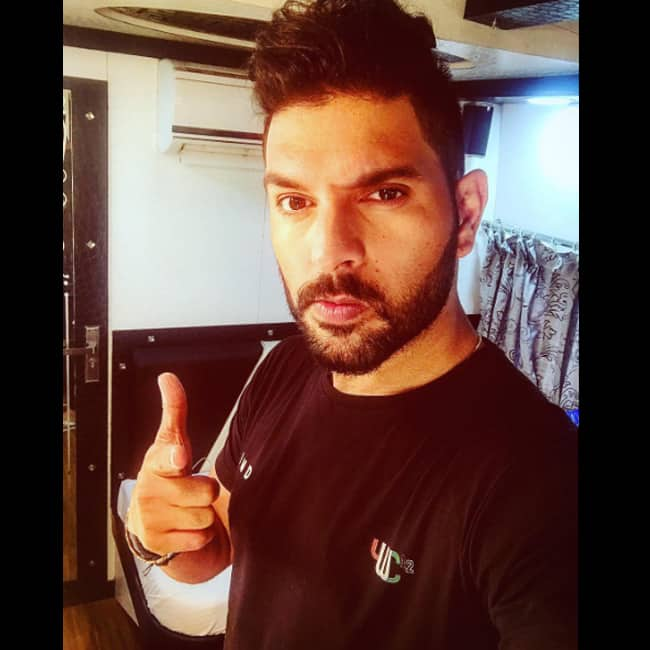 Yuvraj Singh shares a picture on Instagram