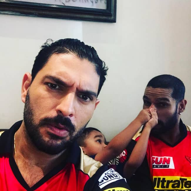 Yuvraj Singh shares a picture with Shikhar Dhawan on Instagram