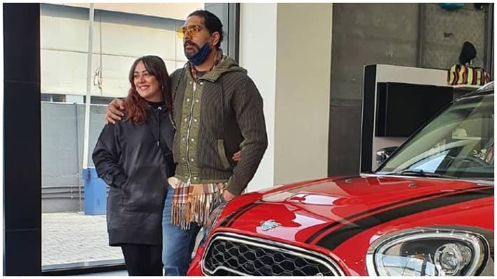Yuvraj Singh s MINI Countryman