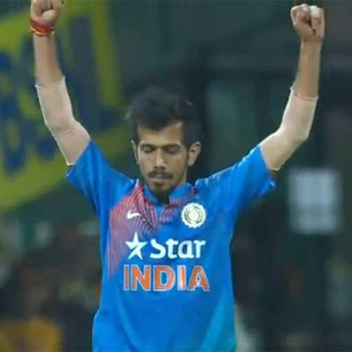 Yuzvender Chahal took his sixth wicket during India vs England 3rd T20I match