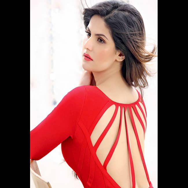 Zarine Khan looks red hot in this picture