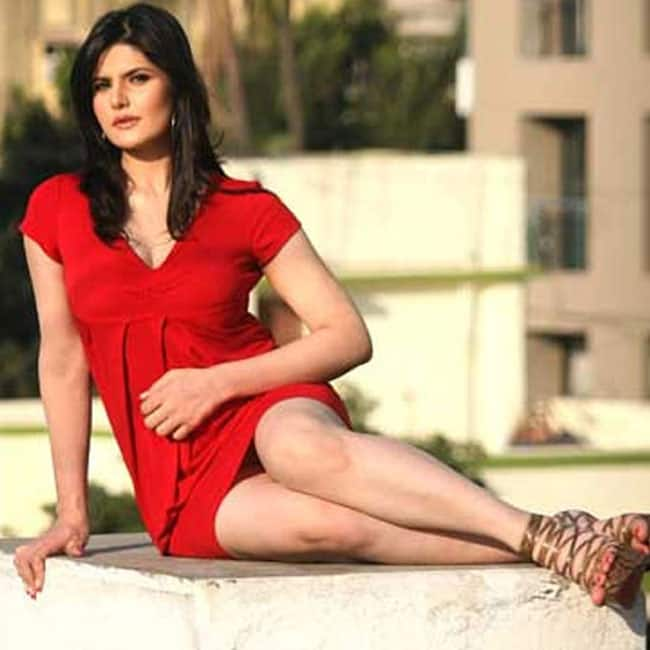 Zarine Khan poses red hot in this sexy shoot